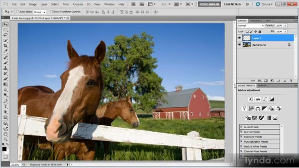 Manual patching: Photoshop Image Cleanup Workshop