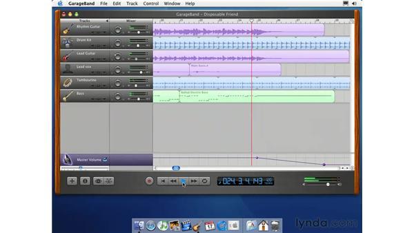 the master track: Learning GarageBand