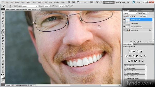 Portrait retouching: Photoshop Image Cleanup Workshop