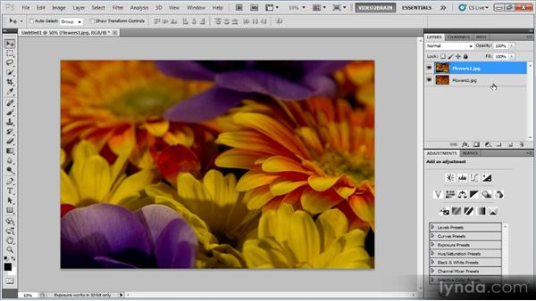 Creating a multiple-exposure effect: Photoshop Creative Effects Workshop