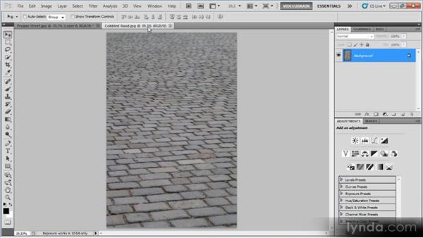 Adding textures: Photoshop Creative Effects Workshop