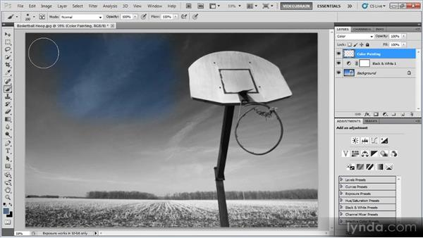 Hand-painting an image: Photoshop Creative Effects Workshop
