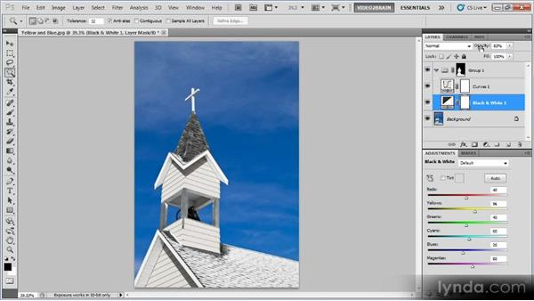 Applying selective effects: Photoshop Creative Effects Workshop