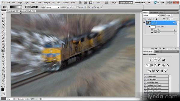 Creating a selective focus effect: Photoshop Creative Effects Workshop