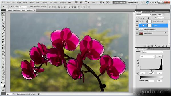 Blending an effect with a background: Photoshop Creative Effects Workshop