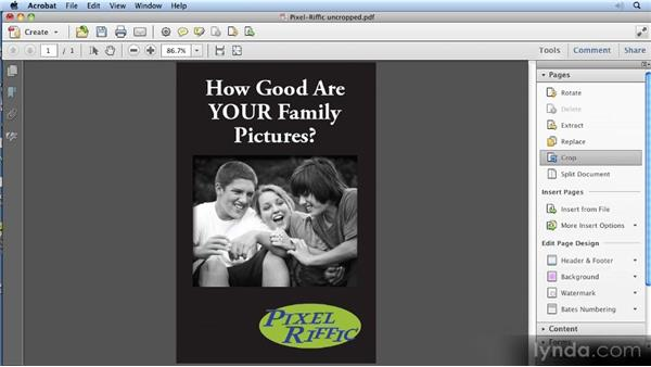 Cropping: 11 Things Every Newspaper Should Know About PDFs