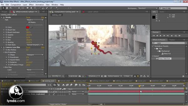 Welcome: Motion Tracking and Stabilization with After Effects CS5.5