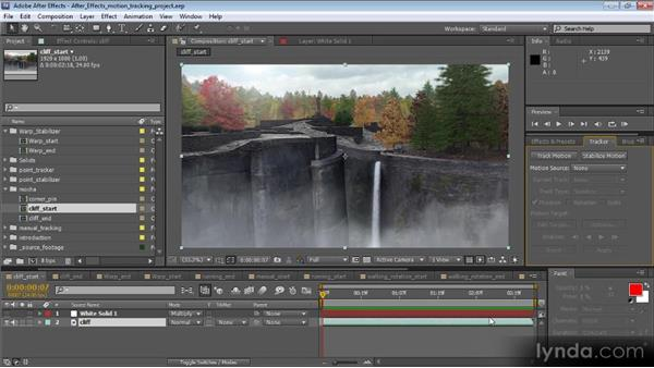 Overview of corner pinning: Motion Tracking and Stabilization with After Effects CS5.5