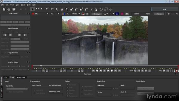 Overview of the mocha AE interface and workflow: Motion Tracking and Stabilization with After Effects CS5.5