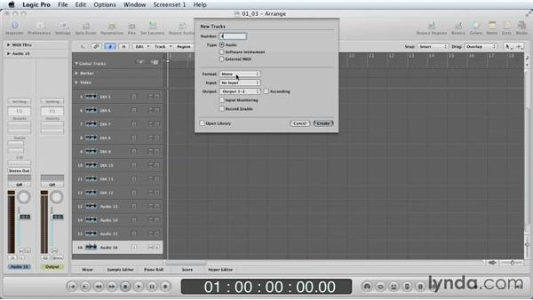 The power of the template: Mixing a Short Film with Logic Pro