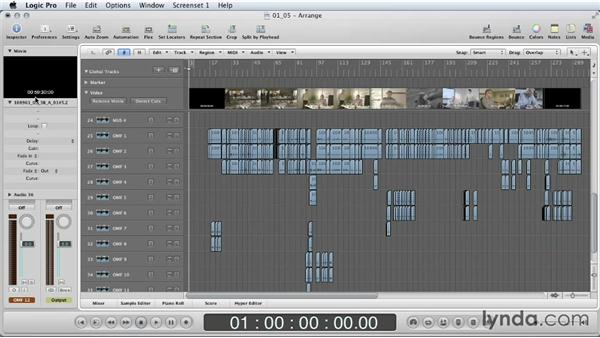 Importing into Logic Pro: Mixing a Short Film with Logic Pro
