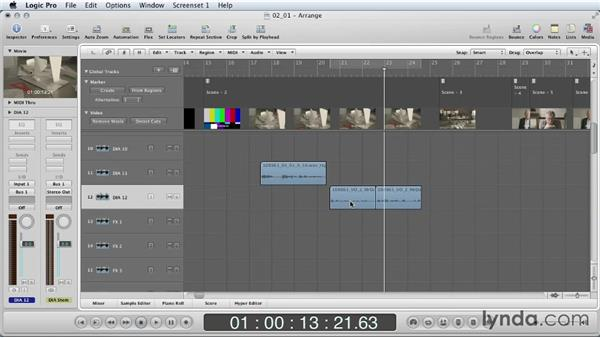 First steps: Mixing a Short Film with Logic Pro