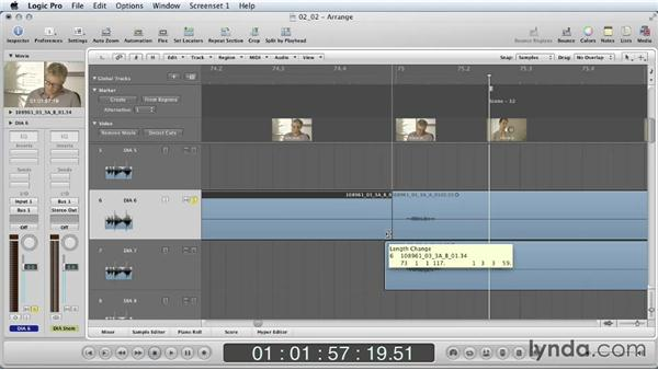 Dialogue editing: Part one: Mixing a Short Film with Logic Pro