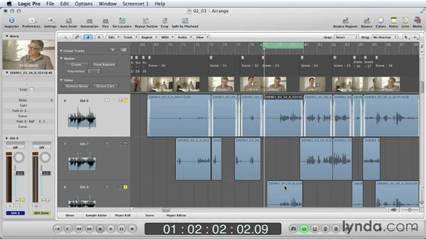 Dialogue editing: Part two: Mixing a Short Film with Logic Pro