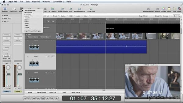 Using Foley: Mixing a Short Film with Logic Pro