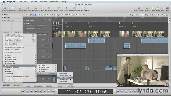 Creating sound effects from scratch: Mixing a Short Film with Logic Pro