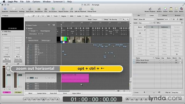Background ambience: Mixing a Short Film with Logic Pro