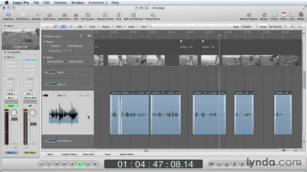 Using EQ to enhance your mix: Mixing a Short Film with Logic Pro