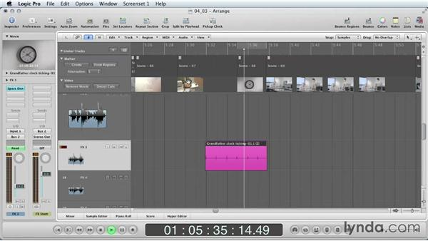 Automating plugins: Mixing a Short Film with Logic Pro