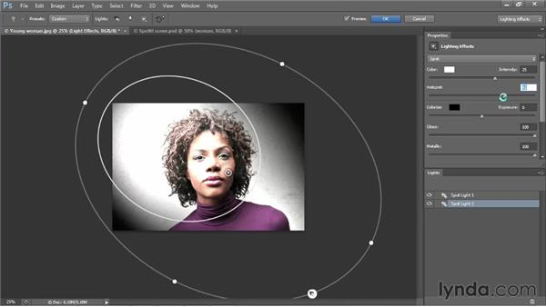 Introducing the Lighting Effects filter: Photoshop CS6 One-on-One: Mastery