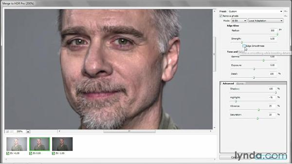Creating an authentic HDR portrait shot: Photoshop CS6 One-on-One: Mastery