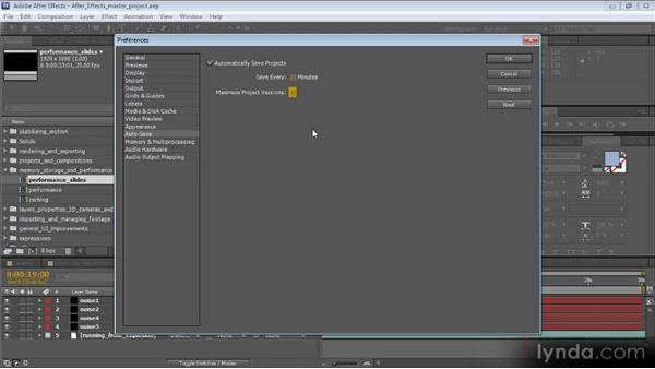 Planning, updating, and autosaving: Optimizing Performance with After Effects and Premiere Pro