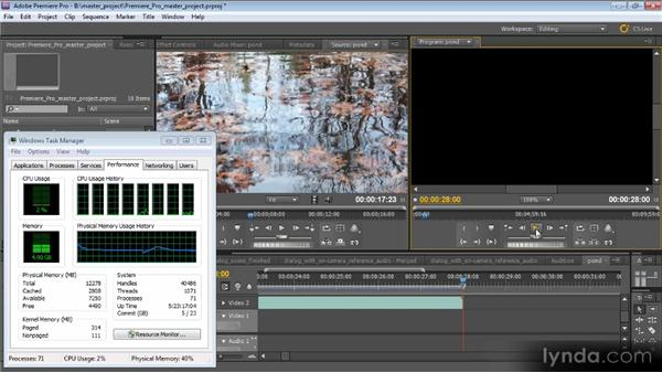 Optimizing CPUs: Optimizing Performance with After Effects and Premiere Pro