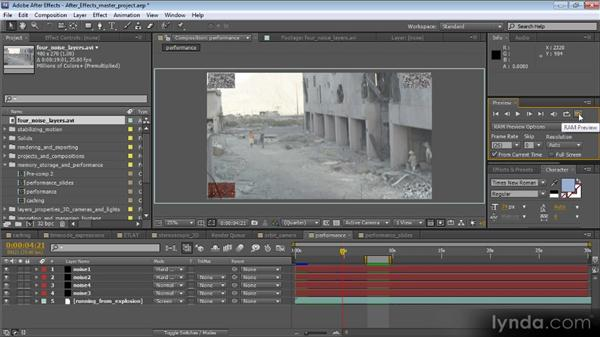 Isolating what you're working on: Optimizing Performance with After Effects and Premiere Pro