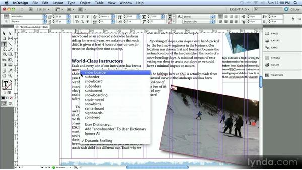 Hunspell dictionaries: InDesign CS5.5 New Features Overview