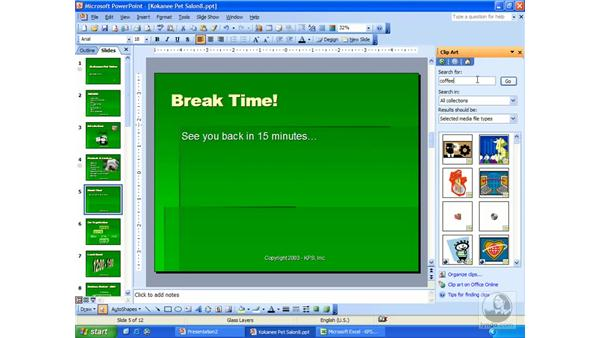 movies: PowerPoint 2003 Essential Training
