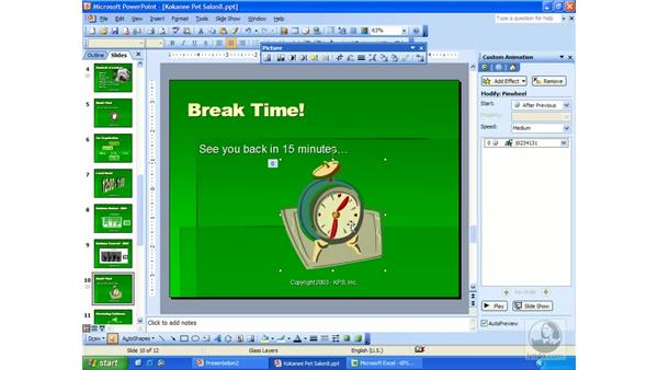 animation: PowerPoint 2003 Essential Training