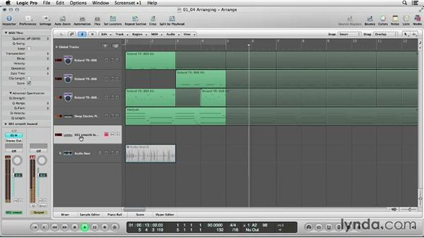 Fast, easy arranging tricks for drums: Logic Production Techniques: Making Beats