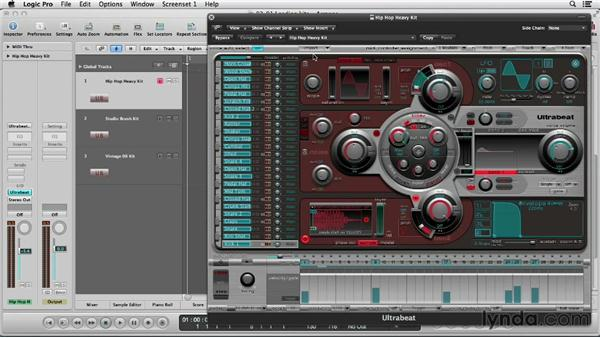 Learning the basics of the drum machine: Logic Production Techniques: Making Beats