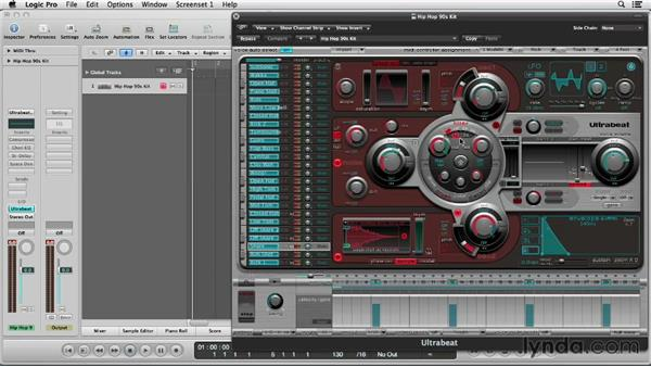 Sound designing your kits: Logic Production Techniques: Making Beats