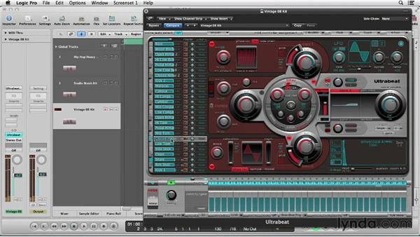 Old-school step sequencing: Logic Production Techniques: Making Beats