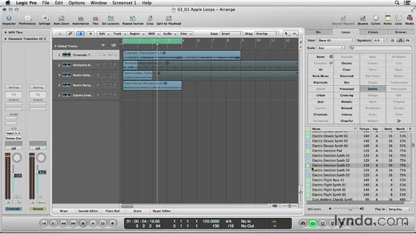Rocking out with Apple Loops: Logic Production Techniques: Making Beats