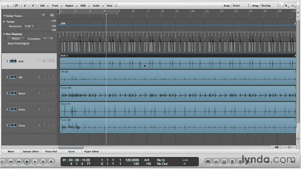 Beatmapping a live performance: Logic Production Techniques: Making Beats