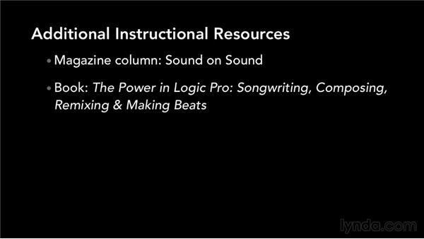 What's next?: Logic Production Techniques: Making Beats