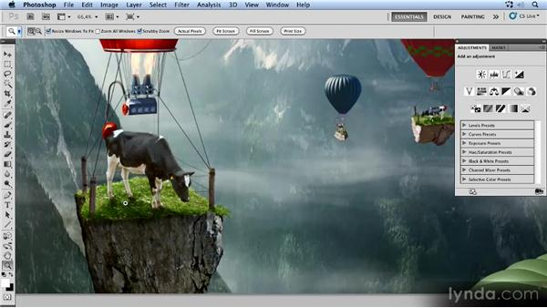 Overview of the project: Photoshop Artist in Action: Uli Staiger's Powered by Nature