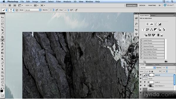 Shaping the rock: Photoshop Artist in Action: Uli Staiger's Powered by Nature