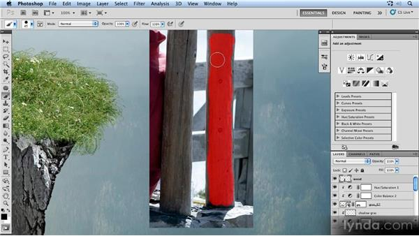 Masking the fence posts: Photoshop Artist in Action: Uli Staiger's Powered by Nature