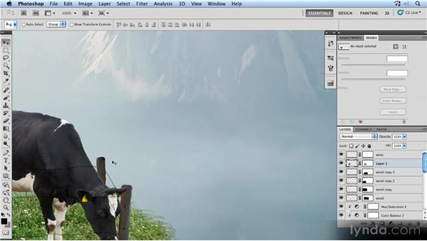 Scaling the cow: Photoshop Artist in Action: Uli Staiger's Powered by Nature