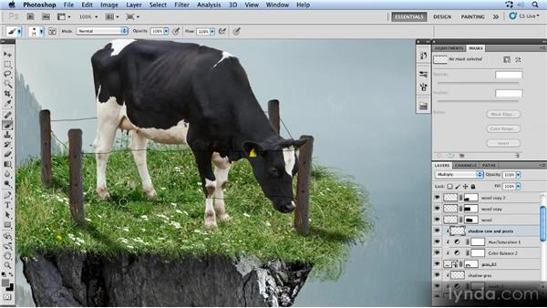 Creating new light and shadows: Photoshop Artist in Action: Uli Staiger's Powered by Nature