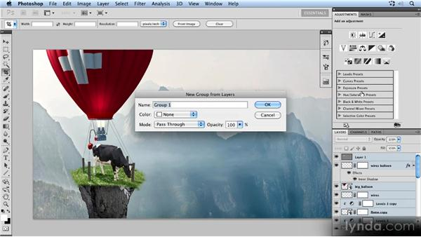Adding more objects to the scene: Photoshop Artist in Action: Uli Staiger's Powered by Nature