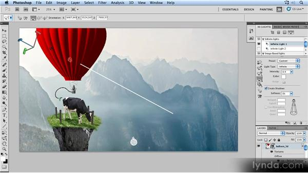 Lighting the 3D balloon: Photoshop Artist in Action: Uli Staiger's Powered by Nature