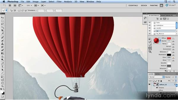 Refining glow and shine: Photoshop Artist in Action: Uli Staiger's Powered by Nature