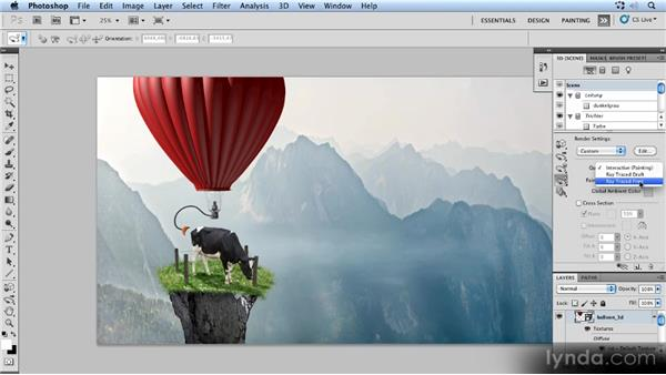 Rendering the balloon: Photoshop Artist in Action: Uli Staiger's Powered by Nature