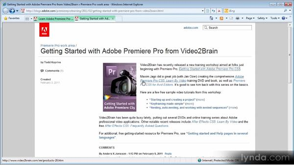 How do I learn Premiere Pro?: Premiere Pro: Frequently Asked Questions