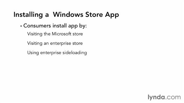 Understanding Windows Store apps: Building Windows Store Apps Essential Training