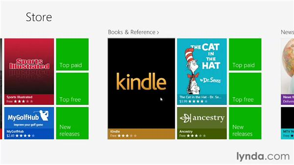 Switching views with Semantic Zoom: Building Windows Store Apps Essential Training